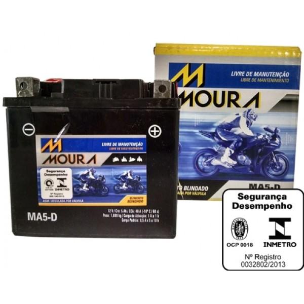Baterias Moura para Motos no Jardim Santo Antônio de Pádua - Bateria Duralight