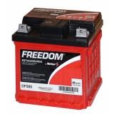 Bateria Freedom estacionária na Várzea da Barra Funda