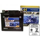 Baterias Moura para motos em Arapeí