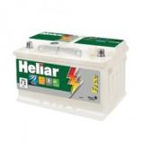 Preço de bateria Heliar no Jardim Miriam