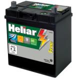 Quanto custa bateria Heliar em Regente Feijó